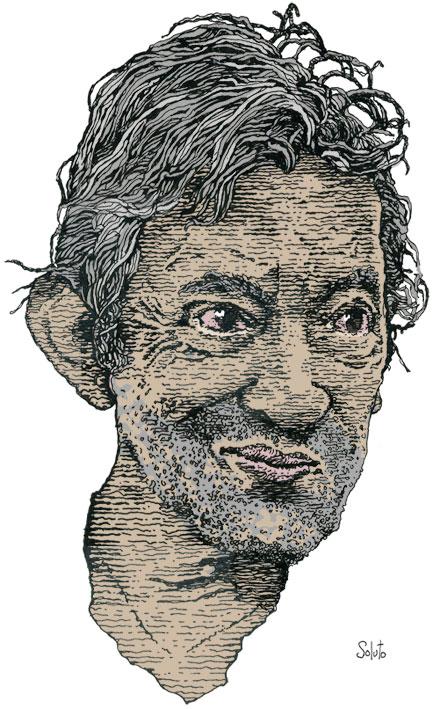 Gainsbourg mister iceberg chou contemporain dessin