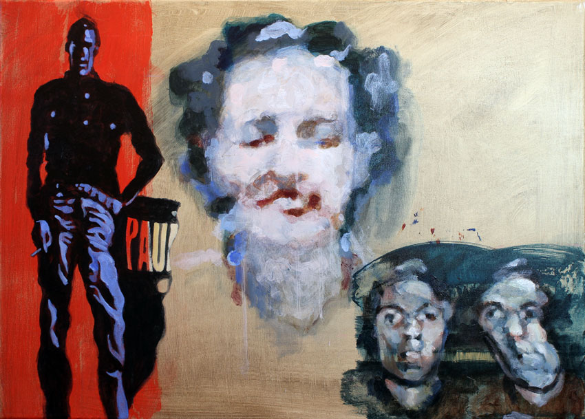 femme peinture cinema personnage soluto portrait