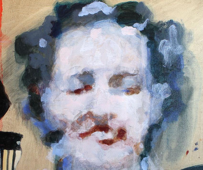 soluto peinture harmonica tronche contemporain dessin