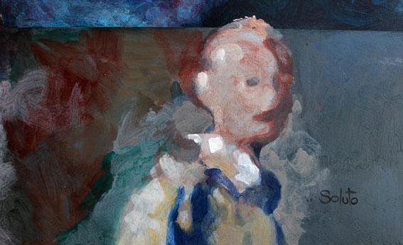 Soluto peinture dessin croquis Marjorie