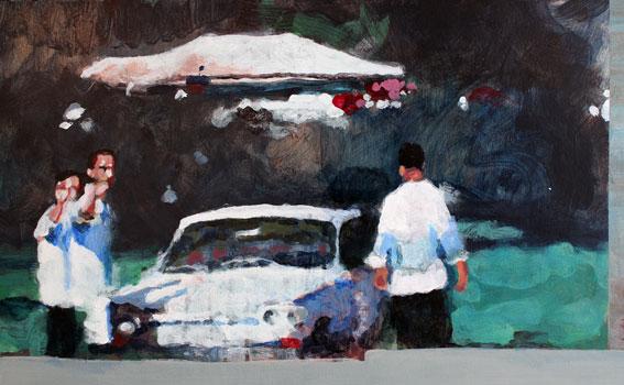 Soluto croquis barbouille peinture dessin voyage voiture