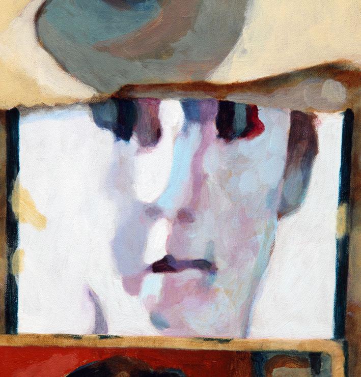 Soluto Rimbaud Arthur première soiree masque lumiere carpe diem peinture dessin