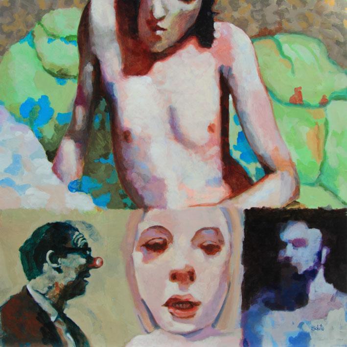 Soluto Villa Perrotte soiree masque lumiere carpe diem peinture dessin