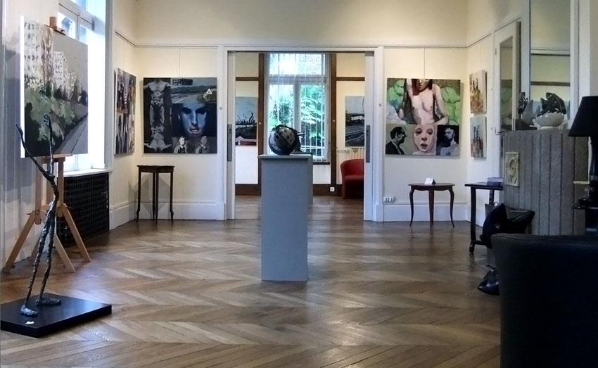 Soluto Villa Perrotte soiree accrochage exposition carpe diem peinture dessin