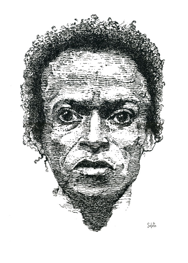 Soluto Miles Davis jazz encre de chine peinture dessin