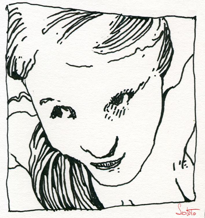 Soluto glace sans tain Cindy case ecriture peinture dessin