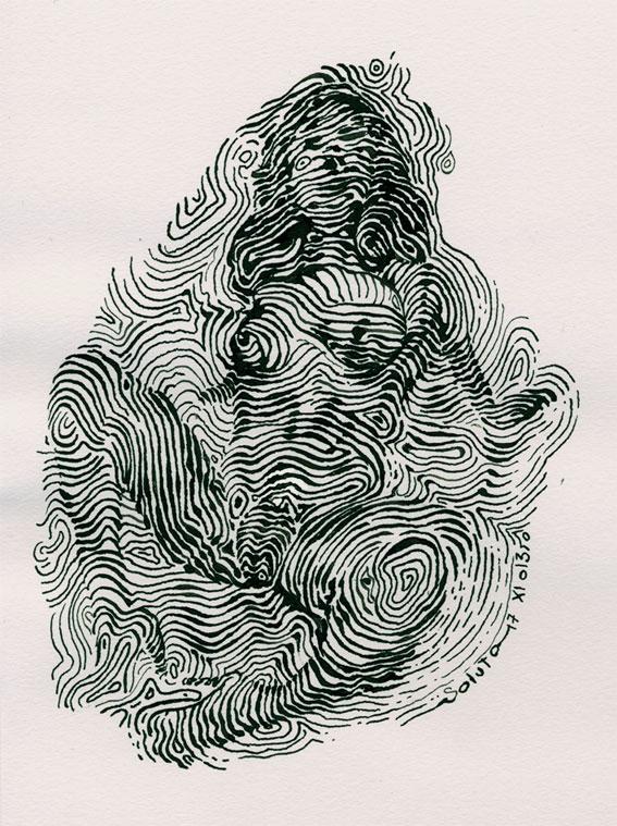 dessin soluto croquis portrait crayon charles trenet madame ecriture peinture