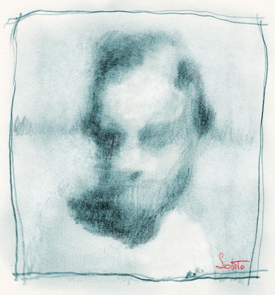 dessin soluto bloc femme nue croquis portrait crayon ecriture peinture