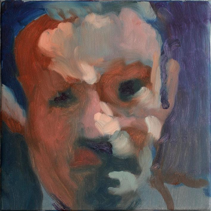 portrait soluto huile peinture