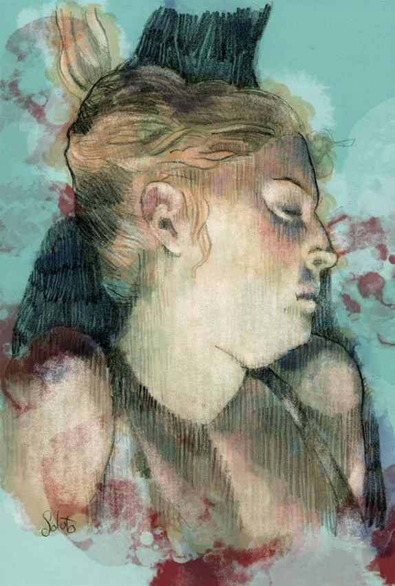 soluto dessin, crayon sur papier, autoportrait, dessin, fusain, board, grey, painting, body, oil on canvas, huile sur toile, soluto peinture