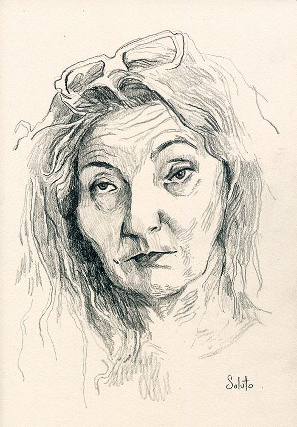 corinne masiero, dessin, fusain, board, grey, painting, body, oil on canvas, huile sur toile, soluto peinture