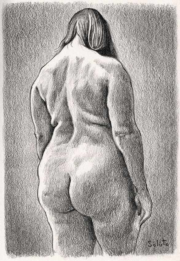 Lesbos, fleurs du mal, dessin, fusain, board, grey, painting, body, oil on canvas, huile sur toile, soluto peinture