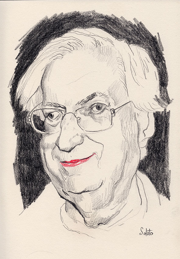 Bertrand Tavernier, dessin, fusain, board, grey, painting, body, oil on canvas, huile sur toile, soluto peinture