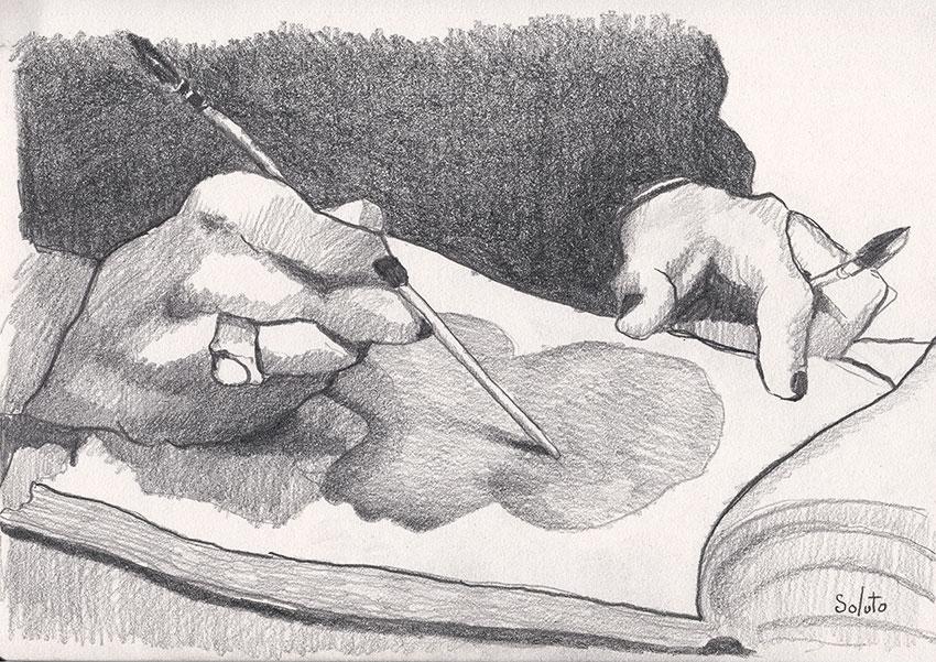 nu, body, graphite, dessin, fusain, board, grey, body, soluto peinture, digital, numerique, toi, moi, le chat, bipolaire