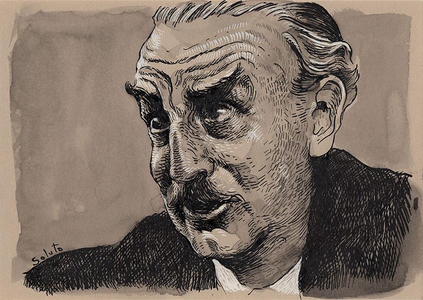 hard-boiled, James Hadley Chase, encre de chine, dessin, soluto, lavis, roman noir