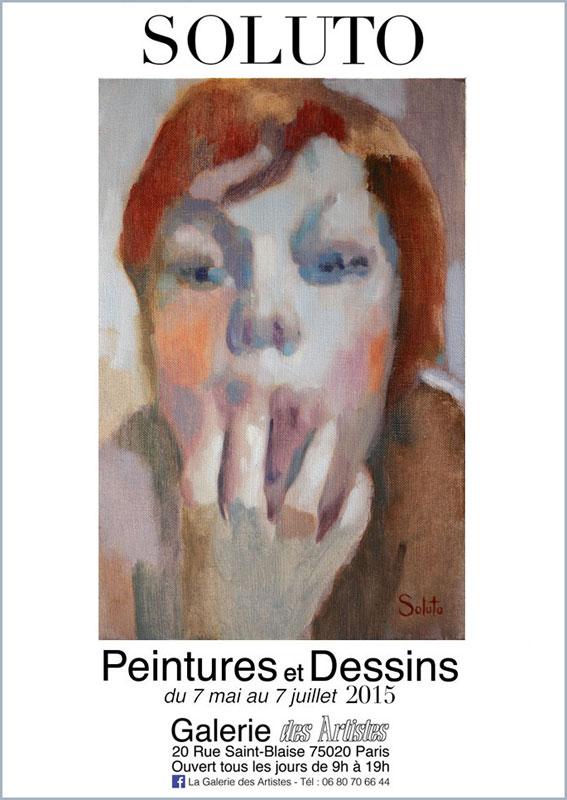 exposition paris portrait soluto huile peinture