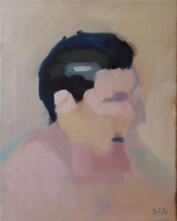 oil canvas huile toile portrait soluto