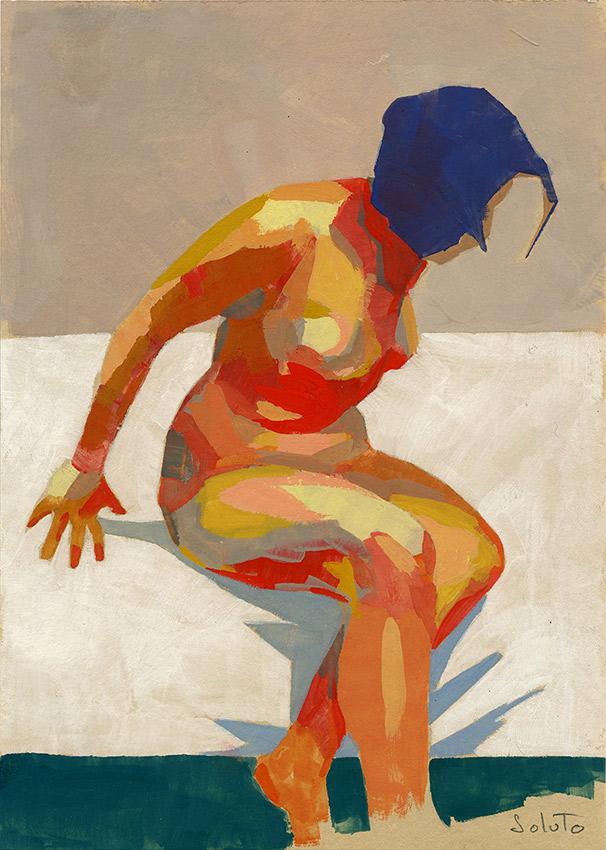 autoportrait, dessin, fusain, board, grey, painting, body, oil on canvas, huile sur toile, soluto peinture